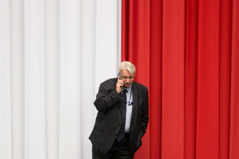 Na zdjęciu szef MSZ Witold Waszczykowski /Krystian Maj /Agencja FORUM