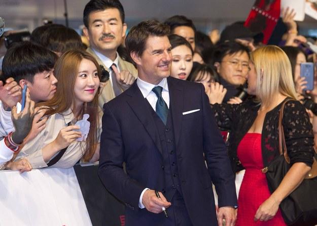 Na zdjęciu Tom Cruise /AA/ABACA /PAP/EPA