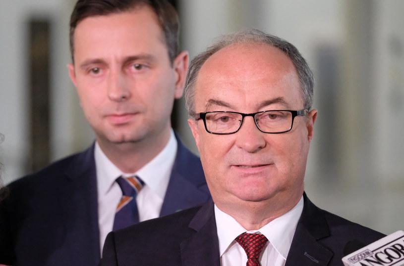 Na zdjęciu Włodzimierz Czarzasty i Władysław Kosiniak-Kamysz /Mateusz Grochocki/East News /East News