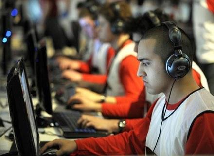 Na zdjęciu: World Cyber Games w Kolonii, listopad 2008 /AFP