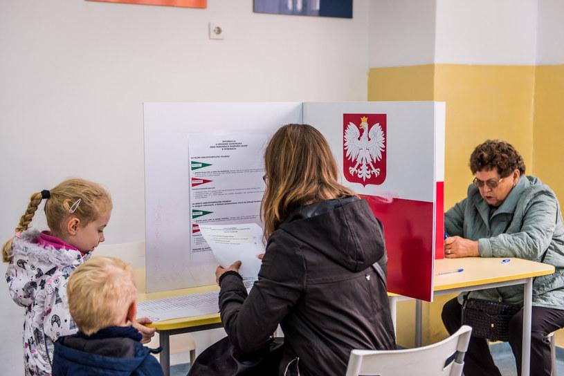 Na zdjęciu: wybory w Gdańsku /Marcin Bruniecki/ Reporter /Reporter
