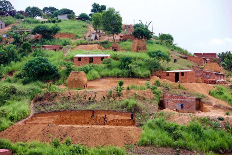 Na zdjęciu z 05.01.2015 r. udostępnionym przez UNESCO widok na miasto M'Banza Kongo w Angoli /PAP/Joost De Raeymaeker /PAP