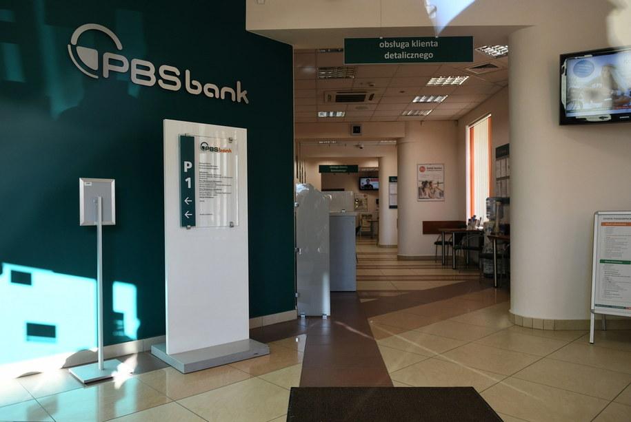Na zdjęciu z 17 stycznia zamknięty Podkarpacki Bank Spółdzielczy w Sanoku /Darek Delmanowicz /PAP