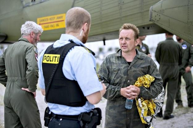 Na zdjęciu z 2017 roku Peter Madsen po zaginięciu Kim Wall /Bax Lindhardt /PAP/EPA