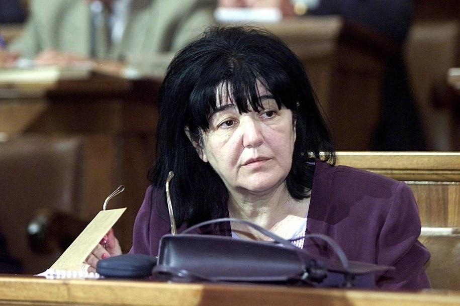Na zdjęciu z 24 lipca 2001 r.: żona byłego jugosłowiańskiego przywódcy Slobodana Miloszevicia /KOCA SULEJMANOVIC /PAP/EPA