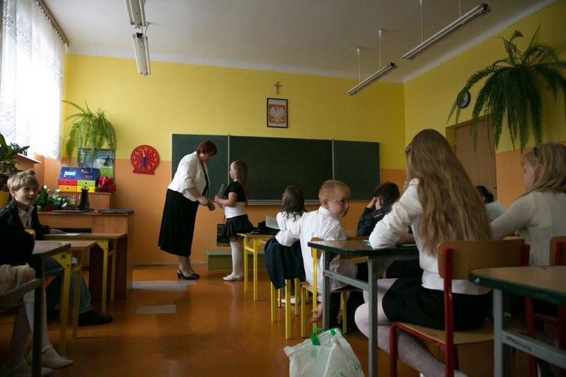 Na zdjęciu zakończenie roku szkolnego w Szkole Podstawowej nr 4 w Łomży /Marek Maliszewski  /Reporter