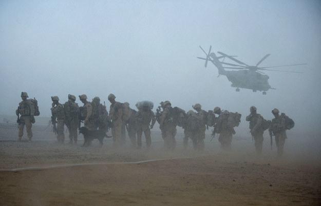 Na zespół stresu pourazowego cierpi około 1,2 miliona amerykańskich weteranów /AFP
