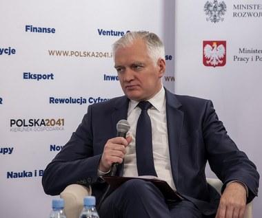 Na żywo dla Interii: Wicepremier Jarosław Gowin