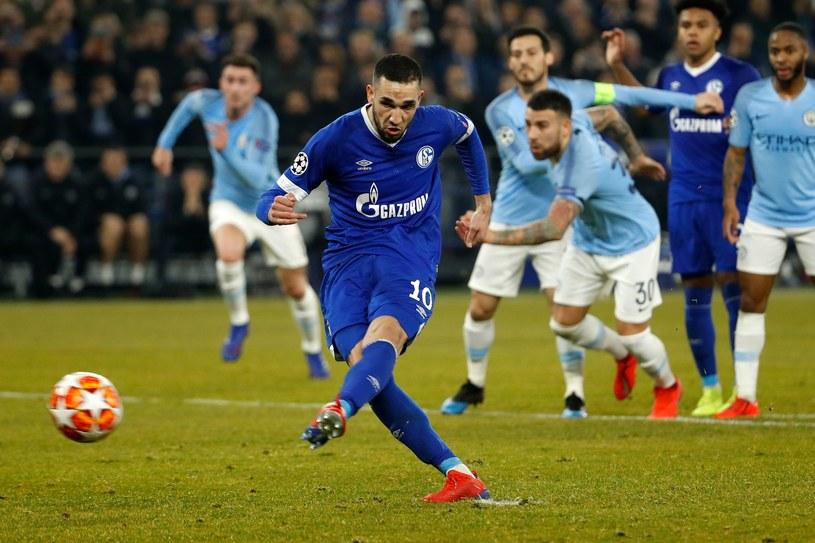 Nabil Bentaleb z Schalke 04 /AFP