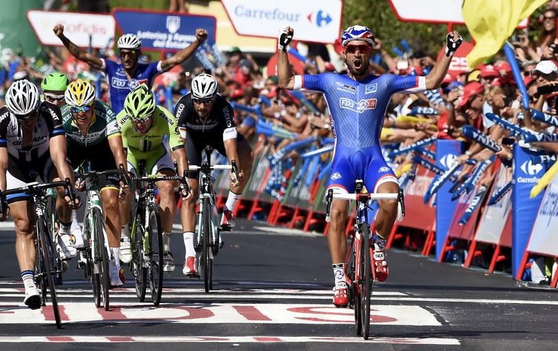 Nacer Bouhanni najszybszy na finiszu /AFP