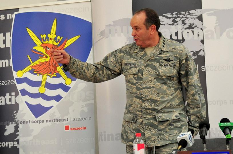 Naczelny Dowódca Sił Sojuszniczych w Europie /Marcin Bielecki /PAP
