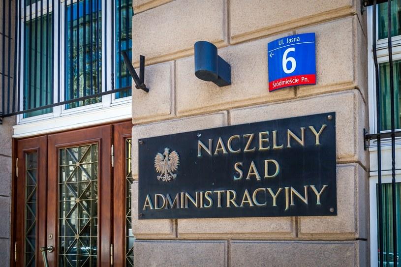 Naczelny Sąd Administracyjny / fot. Krystyna Blatkiewicz  /Reporter