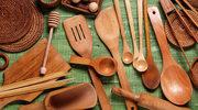 Naczynia i przybory z drewna