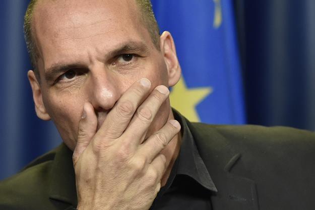 Nad  Grecją wciąż wisi miecz Damoklesa /AFP