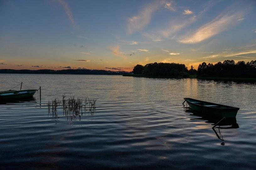 Nad jeziorem Ukiel jest co robić cały rok. Możliwości aktywnego wypoczynku są nieograniczone /GERARD/ REPORTER /Reporter
