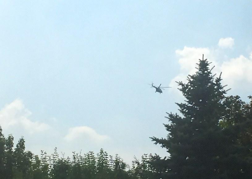 Nad Krakowem od rana krążą helikoptery /INTERIA.PL