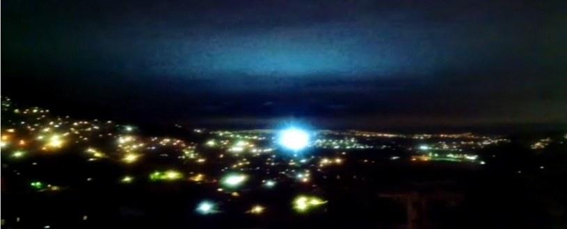Nad Meksykiem można było zaobserwować takie niezwykłe światła /materiały prasowe