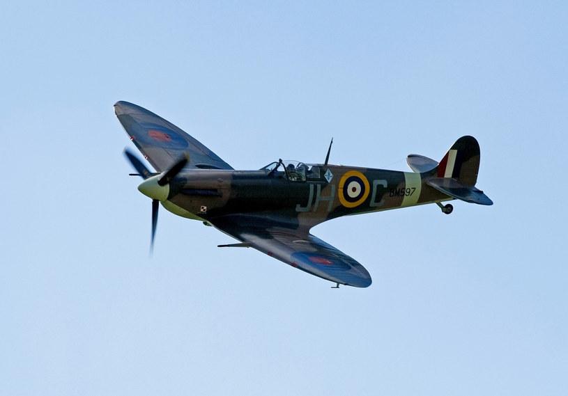 Nad Northolt często pojawiał się spitfire w barwach 317 Dywizjonu Wileńskiego /Robert Zień /East News