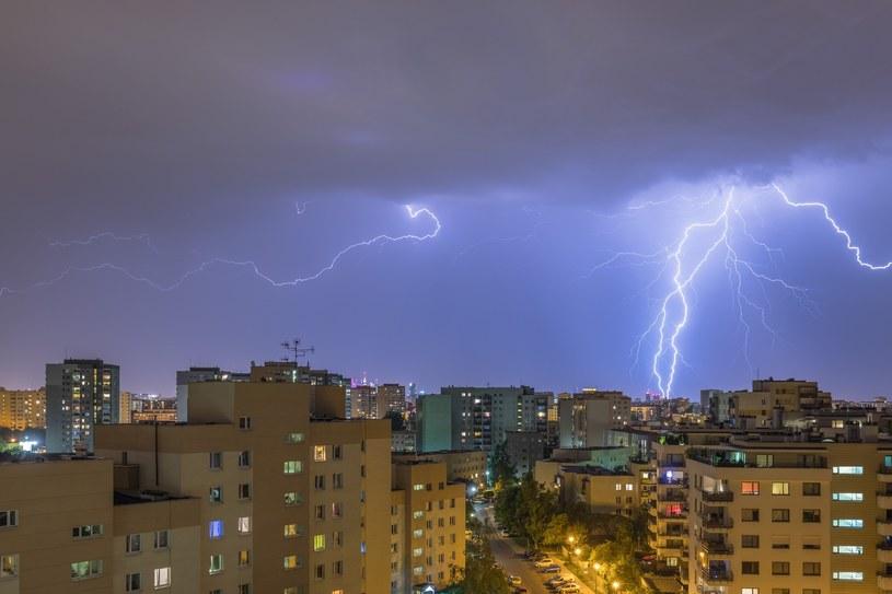 Nad Polską przeszły burze / Arkadiusz Ziolek /East News