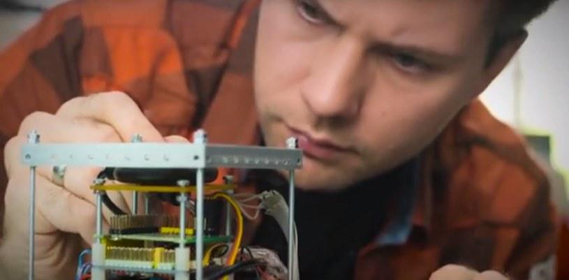 Nad satelitą Mayak pracowała grupa młodych, rosyjskich naukowców /materiały prasowe