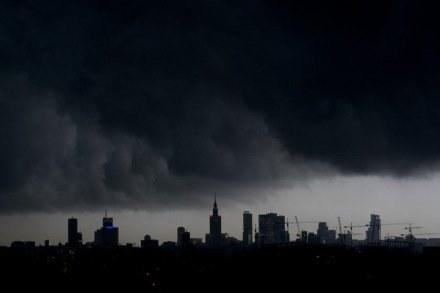 Nad Warszawą przeszła ulewa, fot. Maksymilian Rigamonti /Reporter