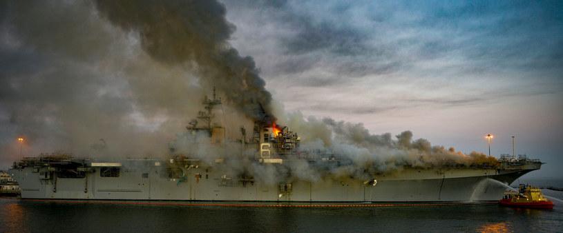 Nadal nie są znane przyczyny pożaru /AUSTIN HAIST/AFP /East News