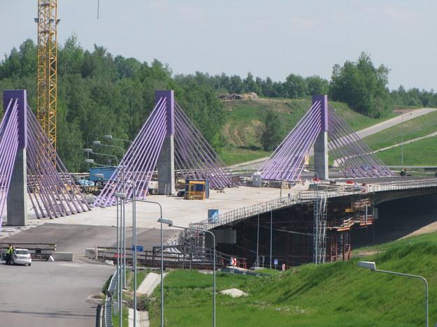 Nadal nie wiadomo, kto i kiedy dokończy budowę mostu na autostradzie A1 /Marcin Buczek /RMF FM