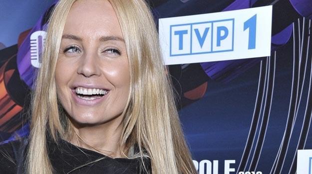 """Nadal w TVP! Agnieszka Szulim zmienia program, ale nie zmienia """"barw klubowych"""". /AKPA"""