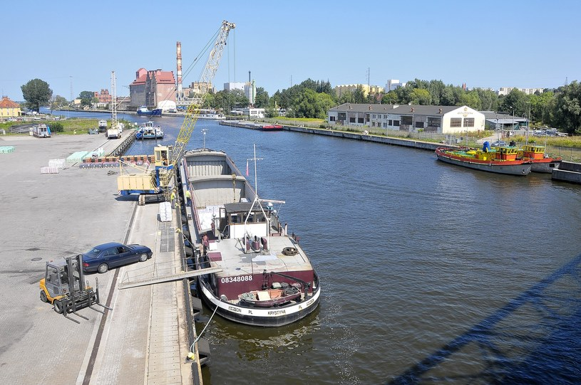 Nadbrzeże portowe w Elblągu /Stanisław Bielski/Reporter /East News