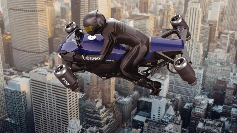 Nadchodzi The Speeder, latający motocykl z napędem odrzutowym dla policji /Geekweek