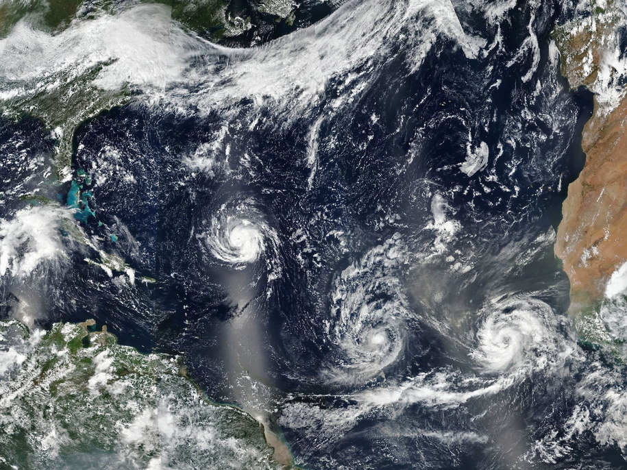 Nadciąga huragan Florence /NASA HANDOUT /PAP/EPA