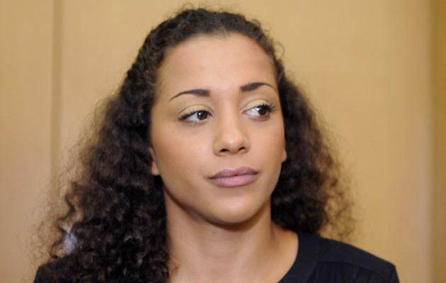 Nadia Benaissa podczas czwartkowej rozprawy w sądzie, fot.Pool  /Getty Images/Flash Press Media
