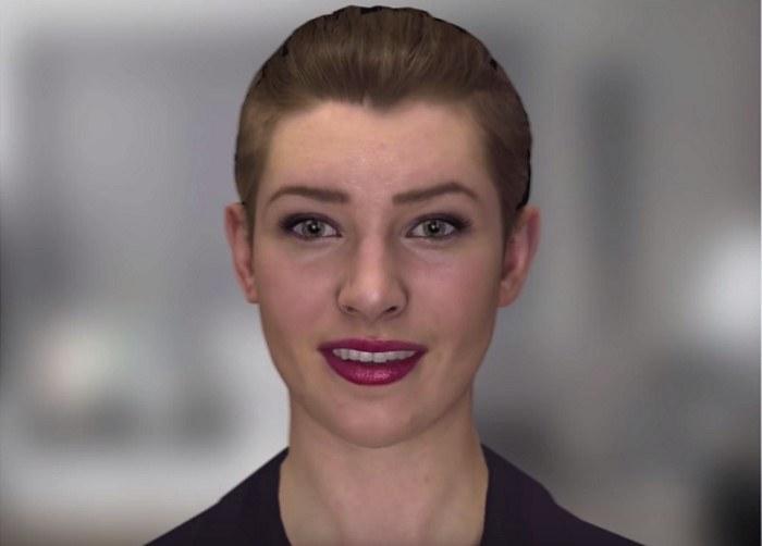 Nadia, chatbot (program to prowadzenia konwersacji) nowej generacji, który coraz mniej rożni się od człowieka - jedna z technologii, jaka zabierze prace ludziom /materiały prasowe