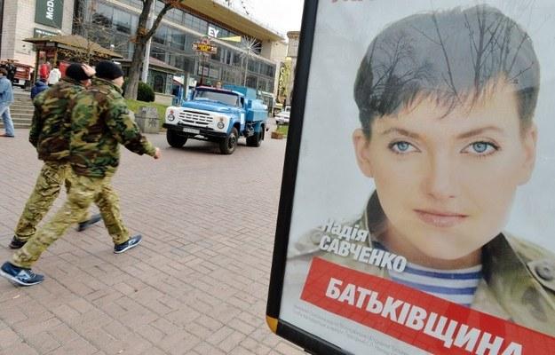 Nadia Sawczenko ogłosiła głodówkę /AFP