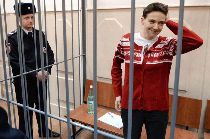 Nadia Sawczenko w niewoli spędziła blisko dwa lata. Schwytana w okolicach Ługańska na wschodniej Ukrainie, została przekazana w ręce Rosjan i ostatecznie trafiła do moskiewskiego więzienia. /East News