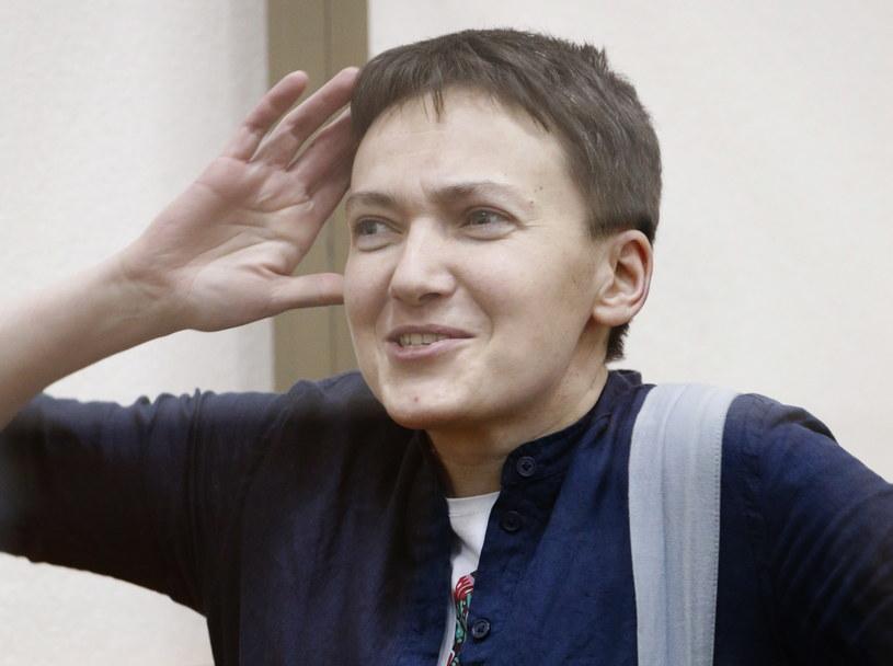 Nadija Sawczenko w sądzie /MAXIM SHEMETOV  /© 2020 Reuters
