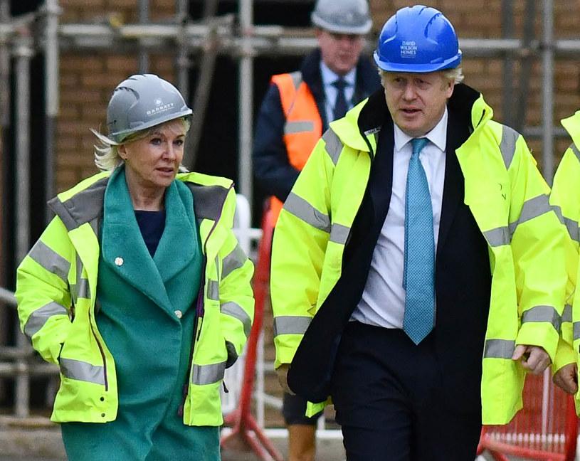 Nadine Dorries i Boris Johnson / Andrew Parsons /Agencja FORUM