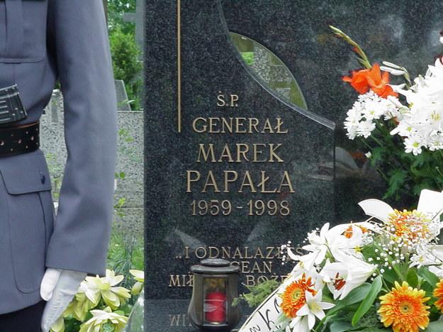 Nadinsp. Marek Papała został zamordowany 25 czerwca 1998 r. /RMF FM