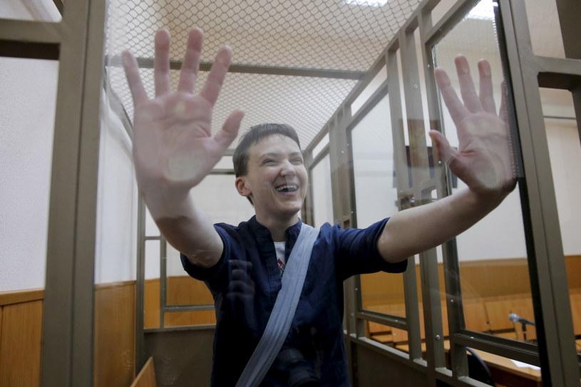 Nadja Sawczenko w sądzie /MAXIM SHEMETOV  /© 2020 Reuters