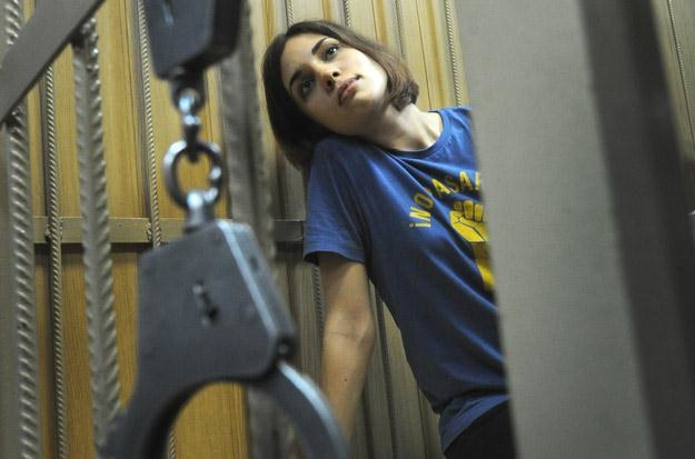 Nadjeżda Tołokonnikowa z Pussy Riot za kratkami. Prędko nie wyjdzie... /AFP