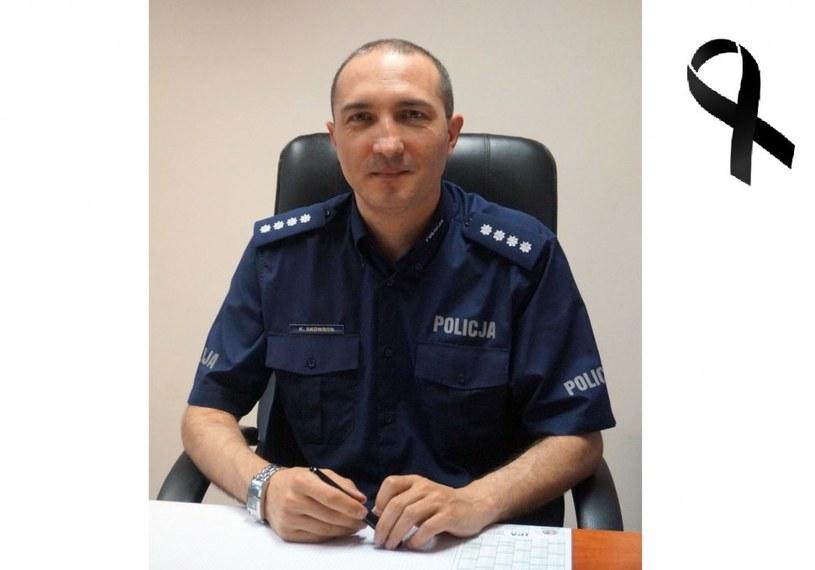 Nadkomisarz Krzysztof Skowron /http://mikolow.slaska.policja.gov.pl /Policja