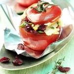 Nadziewane pomidory w folii