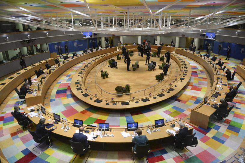 Nadzwyczajne posiedzenie Rady Europejskiej /JOHANNA GERON /PAP/EPA