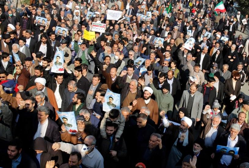 Nadzwyczajne posiedzenie RB ONZ związane jest z demonstracjami w Iranie, w których zginęło już 21 osób /Abedin Taherkenareh   /PAP/EPA