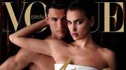 Nagi Cristiano Ronaldo na okładce Vogue