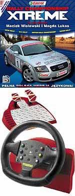 Nagroda główna konkursu - Kierownica Logitech MOMO Force oraz gra Rally Championship Xtreme /INTERIA.PL