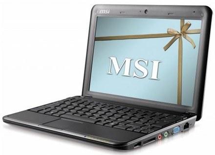 Nagrodami w plebiscycie są netbooki MSI WIND U100 /materiały prasowe