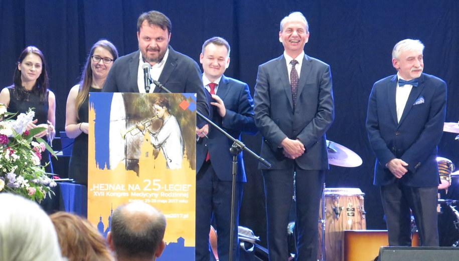 Nagrodę odebrał dyrektor informacji RMF FM Marek Balawajder /Paweł Pawłowski /RMF FM