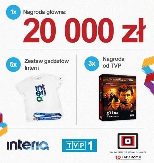 Nagrody w konkursie Wielki Test o Polskim Filmie /materiały prasowe
