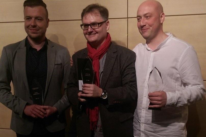 Nagrodzeni dziennikarze RMF FM i RMF MAXXX /Kinga Nyga-Chwalińska /RMF FM